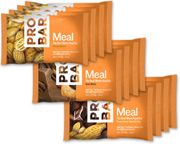 PROBAR BARRA MEAL REPLACEMENT BAR BOX 12 UNID PEANUT LOVERS PACK